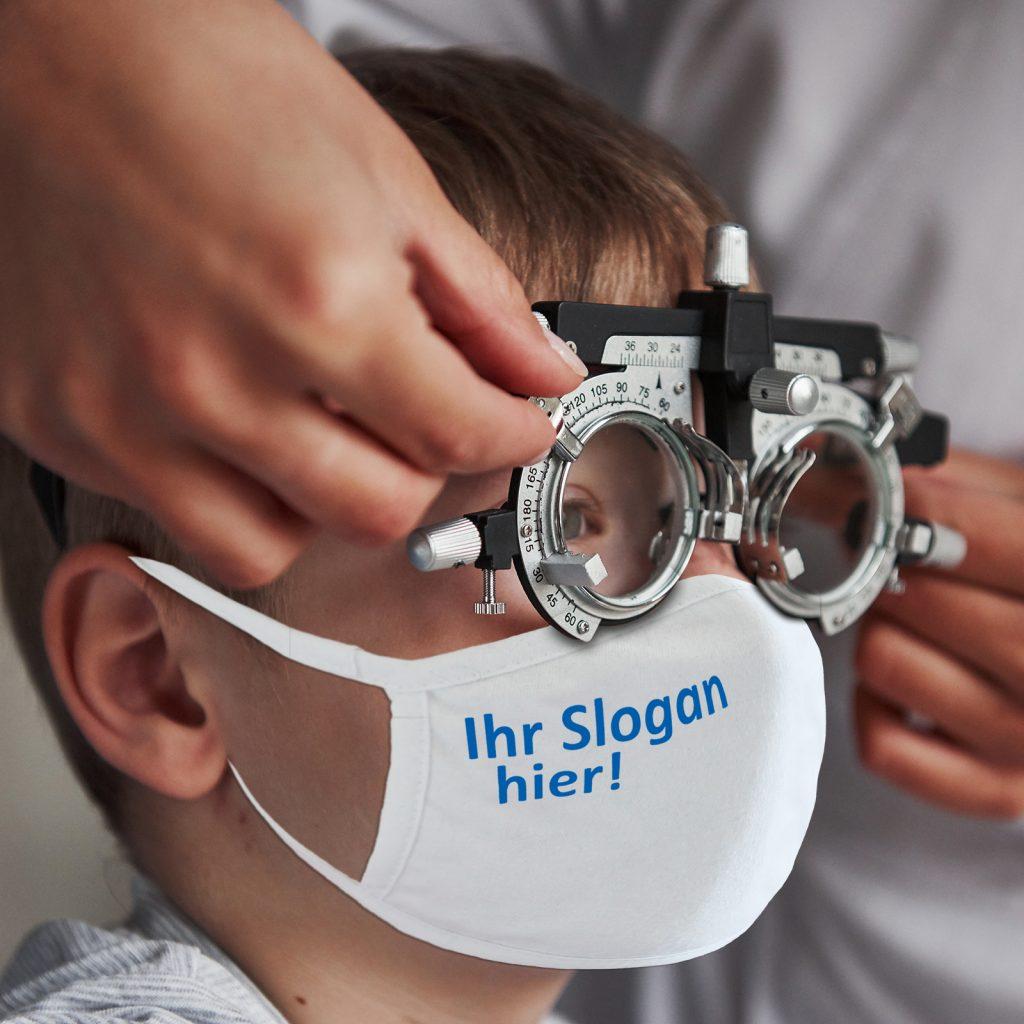 Maske für Optiker