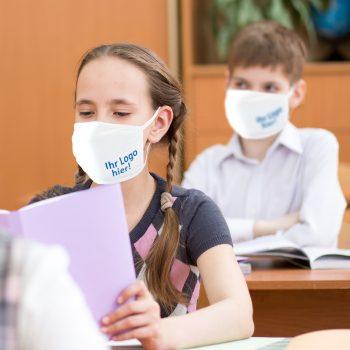Maske für Schulkinder