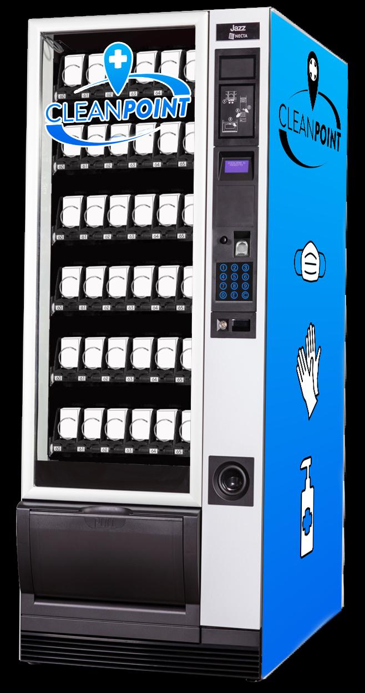 CleanPoint Maskenausgabe Automat