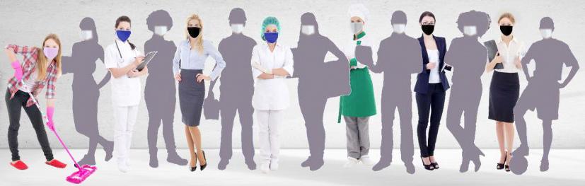 Farbcodierung FFP2 Masken